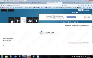 resultado 29 09 2014